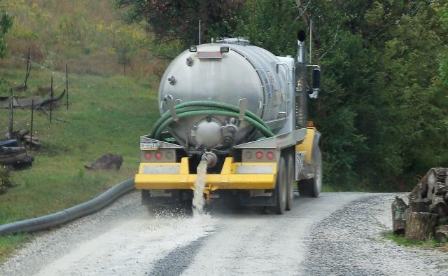 Dumping waste water Blake Rd Wetzel County 092710